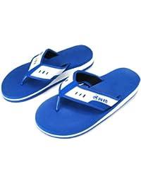 Tongs Bleus, Synthétiques, Sandales de Plage, Pointure 1 à 11, Pour Hommes et Femmes