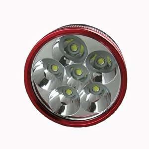 CM3–lED - 7000 lM phare avant à 6 lED type cREE xM-l t6 pour vélo avec 16000 mAh cM3–lED - 015