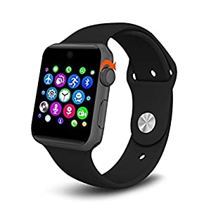 Ehootech® Bluetooth SmartWatch Wristwatch 2.5D ARC HD Screen Support SIM For Android & IOS Phone