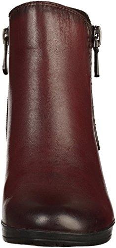 Marco Tozzi 2-25388-39 Damen Stiefelette Rot(Bordeaux)