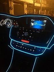 Delhitraderss -Crystal Blue 5 Meter Interior Car Styling light For - Maruti Suzuki Ritz