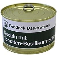 Fertiggericht Dose Nudeln mit Tomaten-Basilikum-Soße 400 g, VEGETARISCH