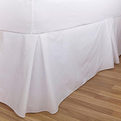 Charlotte Thomas Drap uni percale Luxueux plate-forme de Parure de lit Tour de lit, Bleu clair – King size