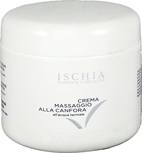 ISB - CAMPHOR MASSAGE cream 500 ml - With Thermal Water of