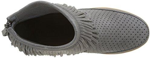 Shoe the Bear Emmy Fringes, Baskets Basses Femme Gris (Grey)