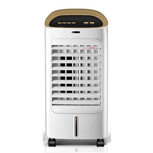 HAIPENG Mobile Tragbare Klimaanlage Klimagerät Luftkühler Lüfter 3 In 1 Kühlung Durch Wasser Verdampfend Luftbefeuchter Luftreiniger Multifunktion, 65W (Farbe : Weiß, größe : 300x280x750mm)