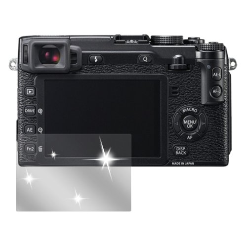 dipos I 6X Schutzfolie klar passend für Fuji X-E2 Folie Displayschutzfolie