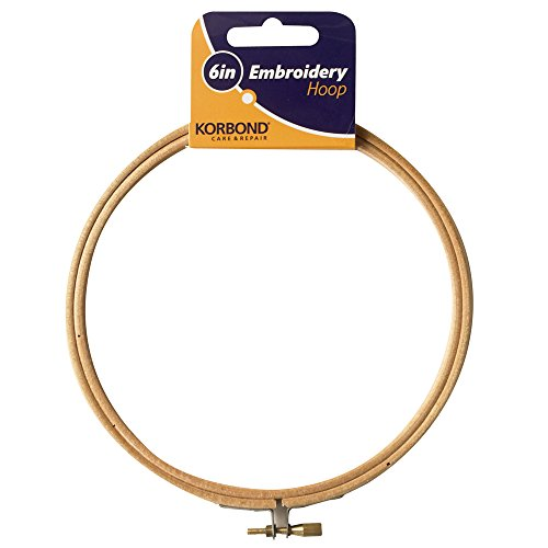 Embroidery Hoop 6 Inch Wooden
