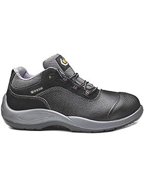 BASE Sicherheits-Halbschuh Sicherheits-Schuh Arbeitsschuh MOZART - S3 SRC BGR191 - schwarz/grau - Größe: 46