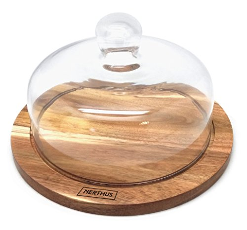 Vin Bouquet cheesedish, Holz