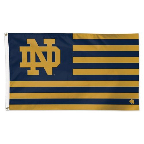 Wincraft NCAA Notre Dame 08758115 Deluxe Flagge, 3 'x 5'