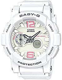 Casio Baby-g Analog-Digital White Dial Women's Watch - BGA-180BE-7BDR (BX079)