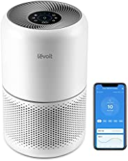 LEVOIT Smart Air Purifier for Home Bedroom, H13 HEPA Air Filter with Real Time Air Quality Sensor, Removes 99.