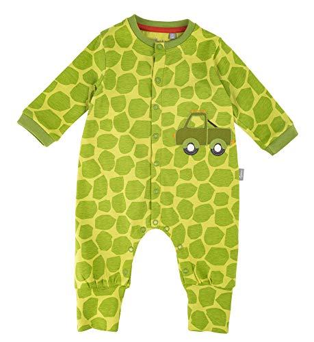 Sigikid Baby-Junge-Overall-Strampler-Schlafanzug Schlafstrampler Grün (Green Oasis 397), Herstellergröße: 68