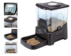 esky petfeeder automatique distributeur de nourriture pour chats et chiens animalerie. Black Bedroom Furniture Sets. Home Design Ideas