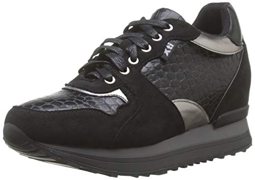 XTI 49459, Zapatillas Altas Mujer, Negro Negro Negro