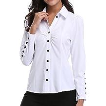0845739c4ca Amazon Mujer Amazon es Camisa es Camisa Blanca Blanca qr0tr