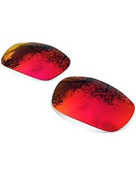 Sunglasses Restorer Lentes Polarizadas de Recambio Ruby Red para Oakley Split Jacket