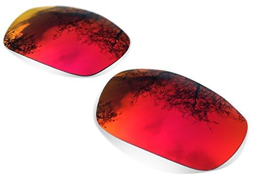 Sunglasses Restorer Ersatzgläser für Oakley Monster Dog (Polarisierte Ruby Red Linsen) (Red Herren Dog)