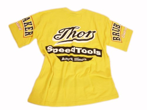 Das Kultshirt! USA Brubaker Speedtools T-Shirt Gelb