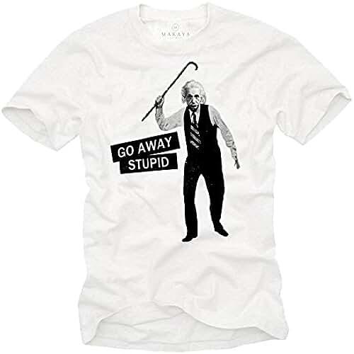 dia del orgullo friki Camisetas Frikis Hombre - GO AWAY STUPID