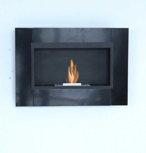 78 cm luxus gel kamin schwarz gelkamin wandkamin bio ethanol