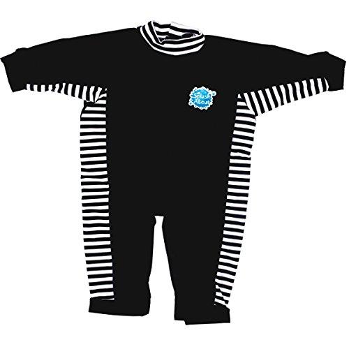 nteiliger UV-Schutzanzug, Marine weiß Streifens, 3-6 Monate, UVANNS3 (Jungen Und Mädchen Passenden Kostüme)
