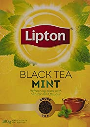 Lipton Yellow Label Mint Loose Tea, 180 gm