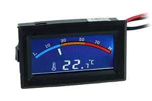 Thermomètre avec affichage digital - affichage C / F