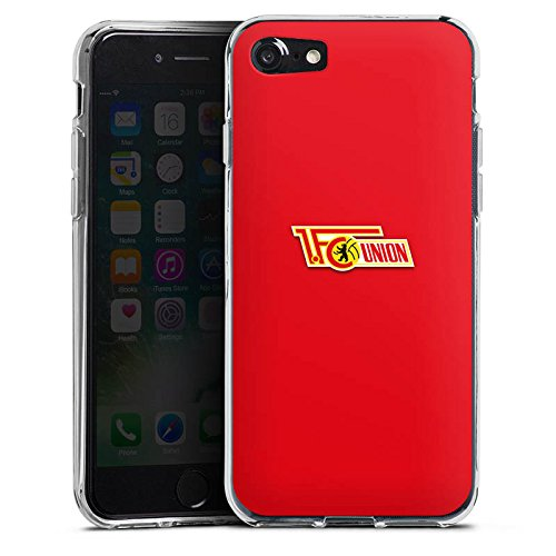 Apple iPhone X Silikon Hülle Case Schutzhülle 1. FC Union Berlin Fanartikel Fußball Silikon Case transparent