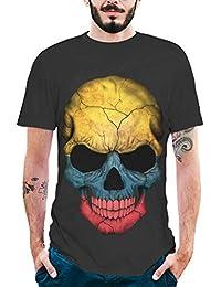 b15fe0bb5ffb 3D Imprime T-Shirt Homme,SANFASHION Manches Courtes Fashion Tops Shirt  Imprime Tête de