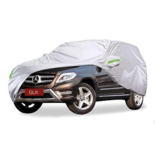 SXET-Cubierta de coche Cubierta del coche Parabrisas Impermeable A prueba de viento A prueba de polvo Resistente a los arañazos Mercedes-Benz Serie GLK Especial Cubierta contra el polvo Coche