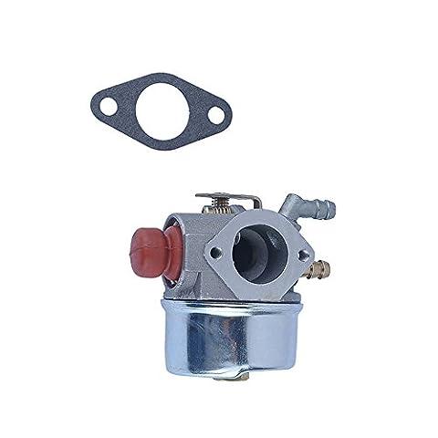 Sauveur réglage carburateur Carb avec joint de fixation pour Tecumseh 6400046400256400141315250–653Souffleuse à neige rotatif