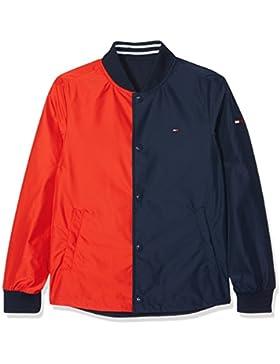 Tommy Hilfiger S Reversible Cracker Jacket, Chaqueta para Niños