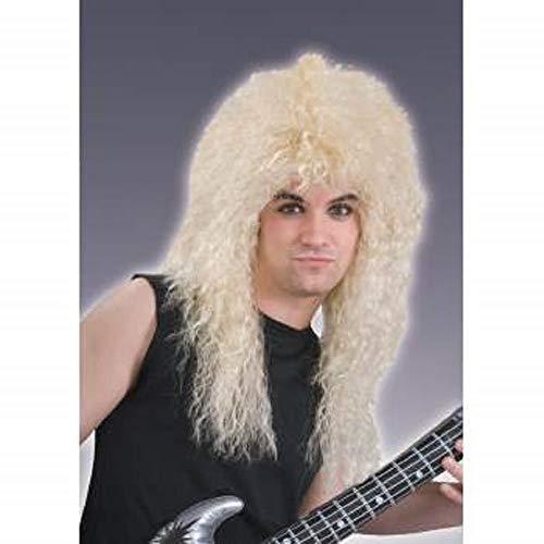 Perücke 80er Jahre Rock Star Blonde
