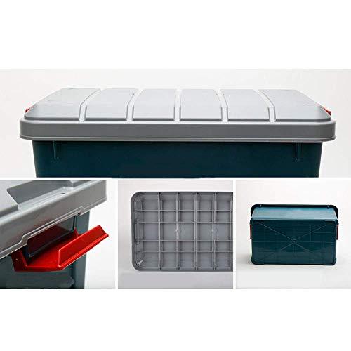 MU Haushalt tragbare Aufbewahrungsbox Massivholz, Auto Auto mit Auto-Backup Multifunktions-täglichen Bedarfs,G