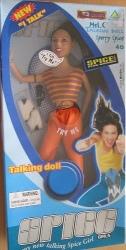 Spice Girls Sporty Spice Talking Doll 1999 by Toymax