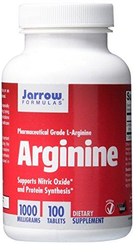 Jarrow Formeln L-Arginin, unterstützt Herz-Kreislauf-Gesundheit, 1000mg, 100Tabletten
