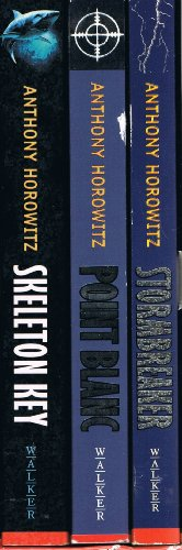Anthony Horowitz 3 book box set: Stormbreaker, Point Blanc and Skeleton Key rrp 15.00