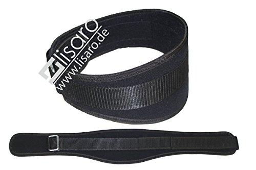 Lisaro Gewichthebergürtel aus Nylon