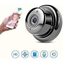 Mini Espía Oculta Cámara, Wireless Wifi Portable Survelliance Smart Camera, Cámaras IP Con Visión Nocturna, Cámara De Detección De Movimiento De Interior Para El Hogar, Oficina, Coche, Drone