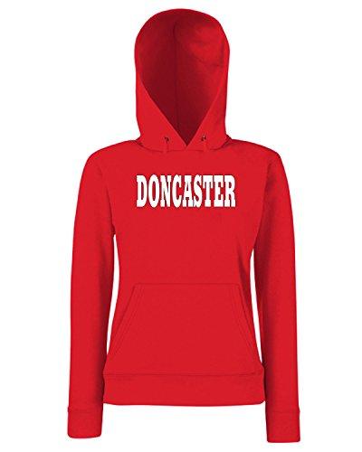 T-Shirtshock - Sweats a capuche Femme WC0738 DONCASTER Rouge