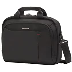 "Samsonite Guardit Bailhandle 13.3"" Bolsos bandolera, 38 cm, 10 L, Color Negro"