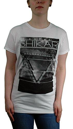 Official Skinny T Shirt Enter Shikari White, tutte le misure White 46