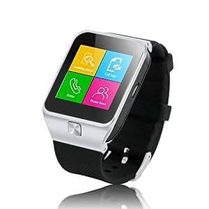 """ZGPAX Orologio Telefono - 1.54"""" Bluetooth V3.0 Intelligente Orologio Sblocco SIM Phone Watch sync chiamata, musica, promemoria, Anti-perso Telefono Compagno per ISO iPhone 5/5S, 6/6 Plus, Android"""