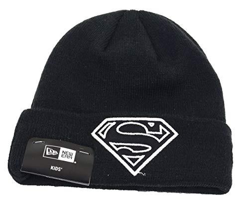 New Era Superman Dc Comics Kids Knit Black - Youth