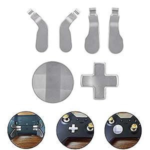 Gaming Zubehör Mod Ersatz Metal Buttons Mod Ersatz Kit für Xbox One Elite Controller