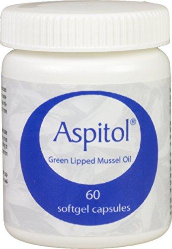 Kala Health Aspitol 60 Softgel Kapseln 50 mg – Grünlippmuschel Kapseln – Grünlippmuschel Öl – Grünlippmuschelpulver in Kapseln – Omega 3,6,9