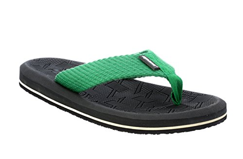 Sparx Men's Grey Green Canvas Hawaii House Slippers (SF2040G)-7 UK  available at amazon for Rs.404