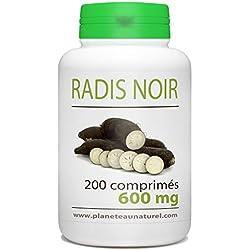 Radis Noir - 600 mg - 200 comprimés